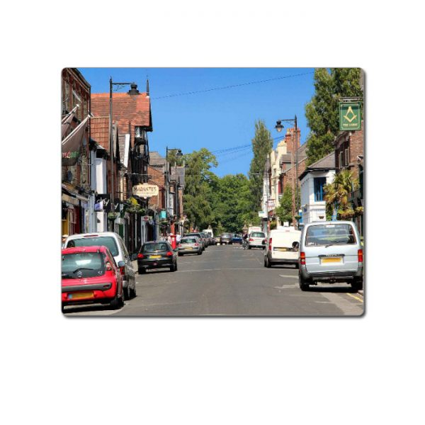 Mouse Mat Blue Sky Lark Lane