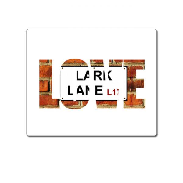 """Mouse Mat """"Love"""" Lark Lane"""